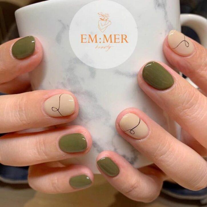 Модные осенние дизайны ногтей