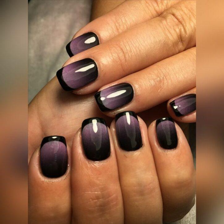 Омбре для ногтей на 2021 год